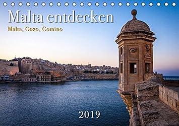 Malta entdecken Malta, Gozo, Comino (Tischkalender 2019 DIN A5 quer): Sehenswertes auf drei Inseln im Mittelmeer (Monatskalender, 14 Seiten ) (CALVENDO Orte)