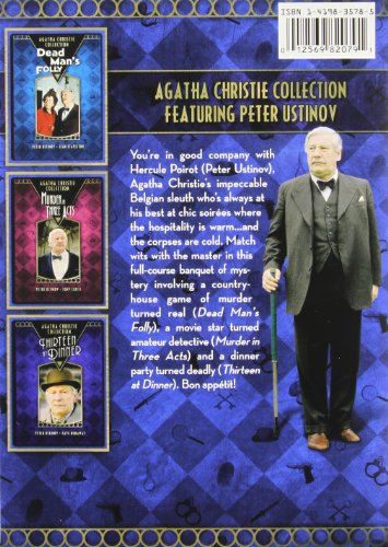 agatha christie collection   dead man u0026 39 s folly    murder in three acts    thirteen at dinner