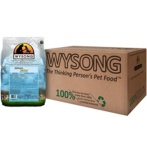 Wysong Optimal Senior - Senior Canine Formula Dog Food, Four- 5 Pound Bags