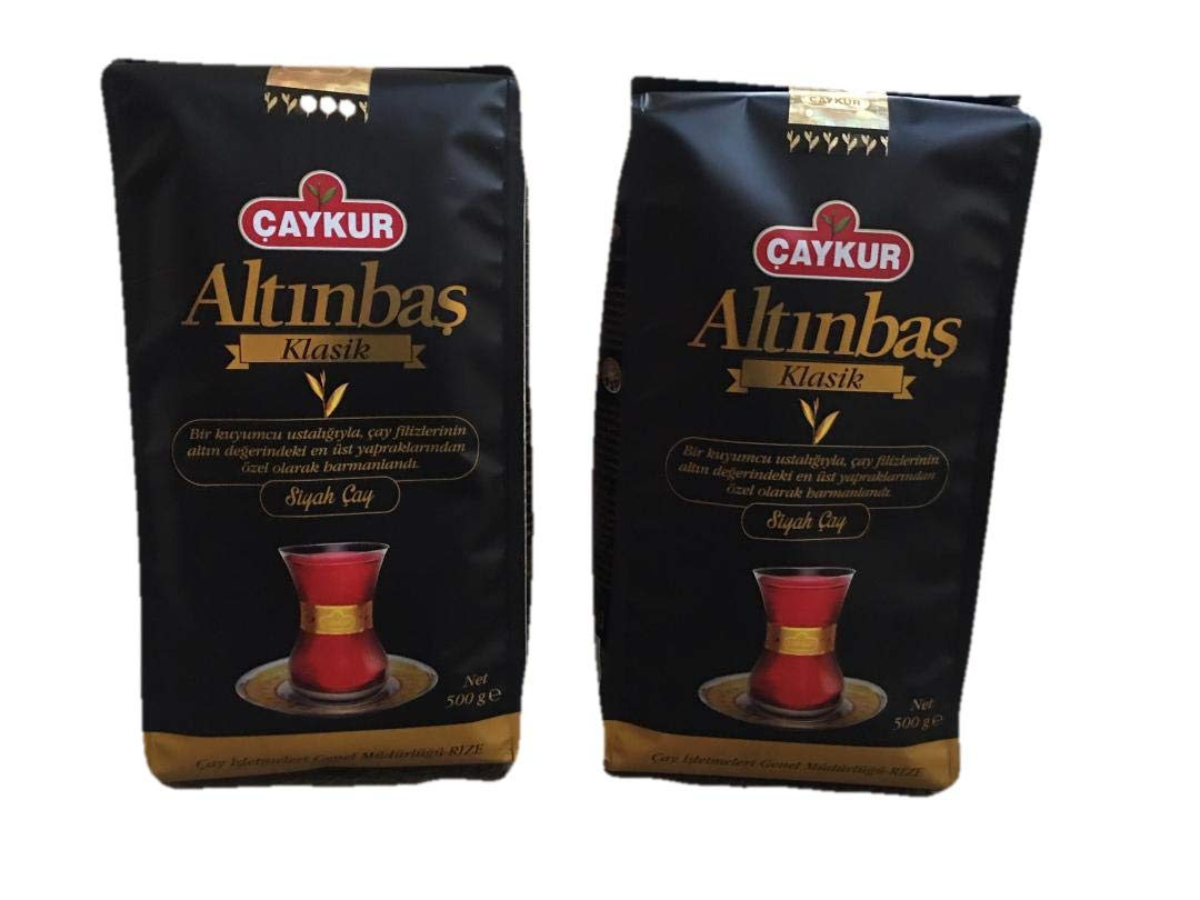 Turkish Tea Caykur Tea Loose Leaf Altinbas Classic Black Tea 17.5 OZ – 2 pack