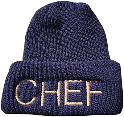 f0c341b403e98 Amazon.com  CHEFSKIN Personalized Embroidery Custom Beanie Hat Knitted One  Size fits Teen Adults  Toys   Games