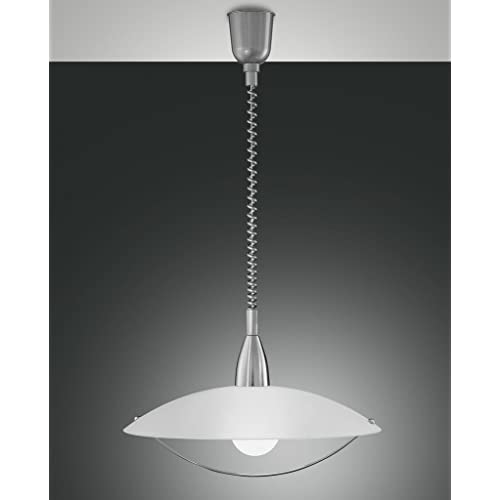 Fabas Luce 2155-40-178 A, Glass, 3 W, A55, White, 10 x 15 x 20 cm