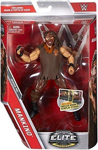 WWE Elite Serie 51 Wrestling Actionfigur Actionfigur Actionfigur - Mankind Mit Abnehmbare Haar Chunks & Maske Zubehör a9eb60