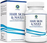 Hair, Skin, Nails Vitamins - 5000 mcg of Biotin to Make Your Hair Grow & Skin Glow with 25 Other Vitamins - Nail Growth and Skin Care Formula for Men & Women