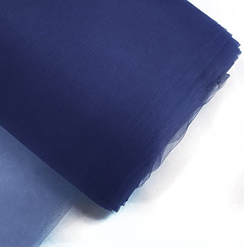 tulle fabric blue - 1
