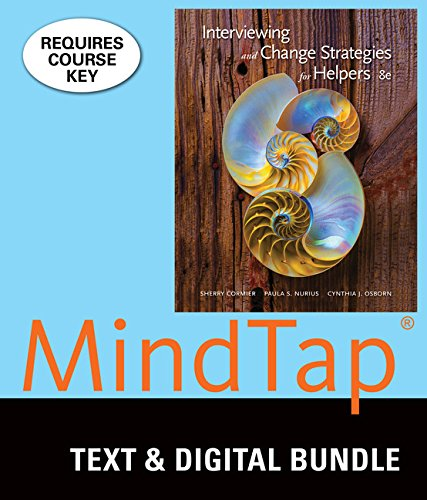 Bundle Interviewing And Change Strategies For Helpers Loose Leaf Version 8th LMS Integrated MindTap Counseling 1 Term 6 Months Printed Access