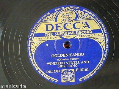 Winifred Atwell - Golden Tango - Zortam Music