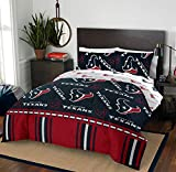 """NFL Houston Texans """"Rotary"""" Queen Bed In a Bag"""