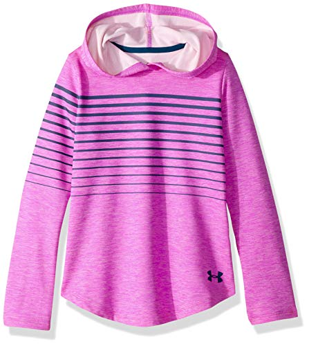 - Under Armour Girls Armour Coldgear Hoody, Fluo Fuchsia Light H (565)/Techno Teal, Youth Medium