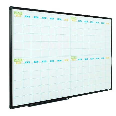 Amazon.com: Lockways - Calendario magnético de borrado en ...