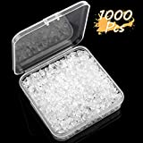 Arts & Crafts : Silicone Clear Earring Backs Safety Bullet Earring Clutch Hypoallergenic by Yalis, 1000 Pieces