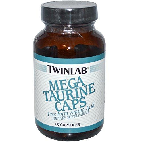 Twinlab, Mega Taurine Caps, 50 Capsules - (Mega Taurine 50 Capsules)