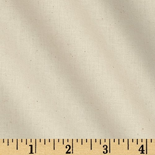 Robert Kaufman Kaufman American Made Muslin Natural Fabric by The -