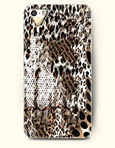 diy phone casePhone Case For iPhone 5 5S Cheetah Print And Snake Skin Pattern Overlapping - Hard Back Plastic Case / Animal...diy phone case