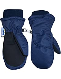 Kids and Baby Easy On Wrap Waterproof Thinsulate Winter Snow Mitten