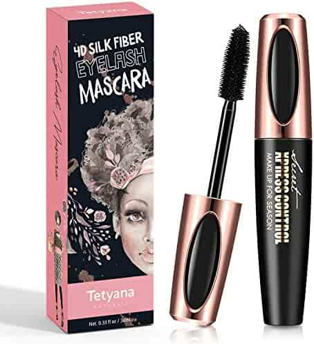 4D Silk Fiber Lash Mascara Waterproof Natural Thick Thickening and Lengthening Mascara, Long Lasting Charming Eye Makeup