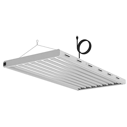 Amazon.com: VIVOSUN 6500K 4FT T5 HO Fluorescent Grow Light Fixture ...