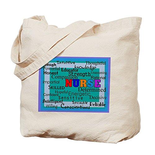 CafePress Tote Bag-Coperta da infermiera blue.PNG Tote Bag