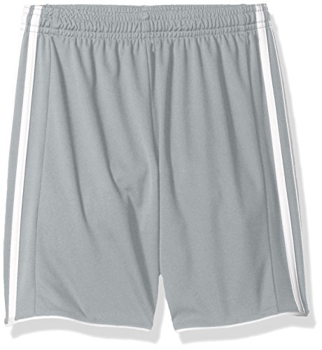 Adidas Youth Soccer Tastigo Shorts, Light Grey/White - XX-Sm