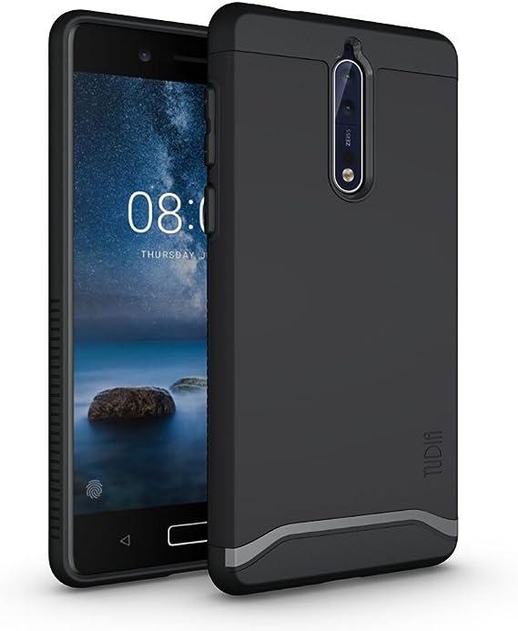 TUDIA Nokia 8 Funda, Caja Protectora Merge Tarea Pesada Protección ...