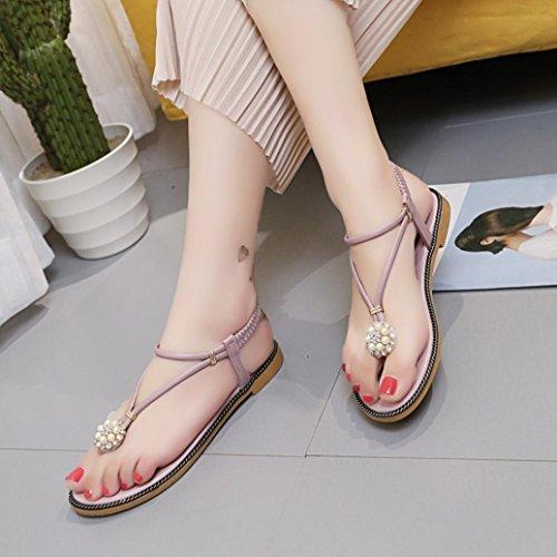 Chaussures Boho argentées Casual femme eaECxA