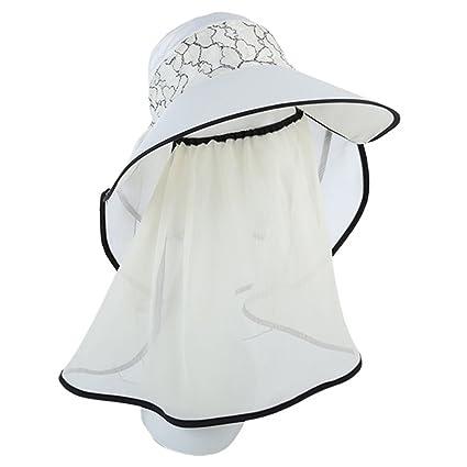HAIPENG gorra Verano Gorros Para El Sol Sombreros Viseras Gorras Gorro De Pescador  Pare Mujer Hueco 4a55d4569c1
