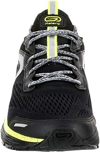 Kalenji - Zapatillas de Running de Caucho para Hombre, Color Negro, Talla 43 EU: Amazon.es: Zapatos y complementos