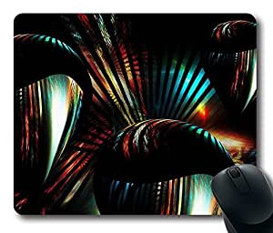 """Illumination Customized Mousepad Oblong Design Mouse Pad Picture Printing in 220mm*180mm*3mm (9""""*7"""") -82680"""