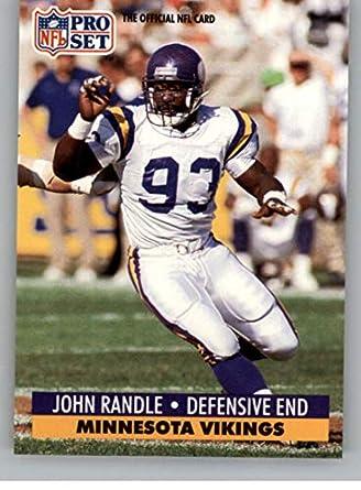 17147c8ce14 1991 Pro Set Football Card  835 John Randle RC Rookie Card Minnesota Vikings  Official NFL
