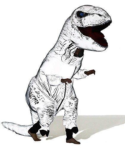 GOPRIME Jurassic T-rex Adult Size Halloween Party Cosplay