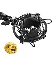 AT2020 Shock Mount - Microfoon Shockmount vermindert trillingen ruis en verbetert de opnamekwaliteit voor Audio Technica AT2020 AT2020USB+ AT2035 ATR2500 condensator microfoon door YOUSHARES