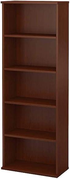 Bush Furniture Commerce 5 Shelf Bookcase
