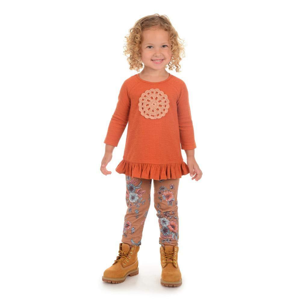 PIPPA /& JULIE Penny Orange Legging Set