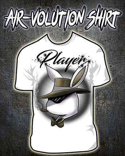 Personalized Airbrushed Player Bunny Shirt ()