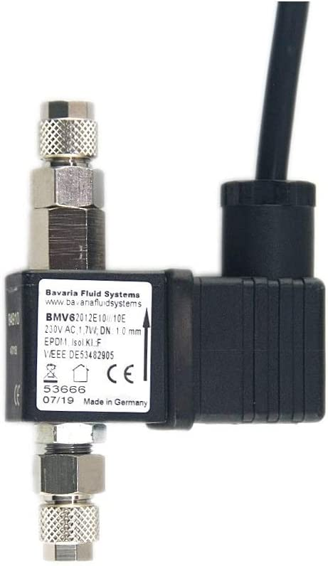 Bavaria Fluitech Soupape magn/étique CO2 avec clapet Anti-Retour et arr/êt Nocturne