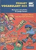 Primary Vocabulary Box, Caroline Nixon and Michael Tomlinson, 0521520339