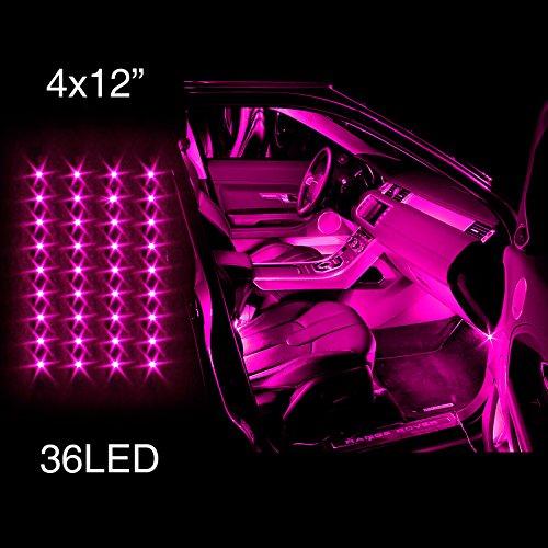 car lights pink - 4