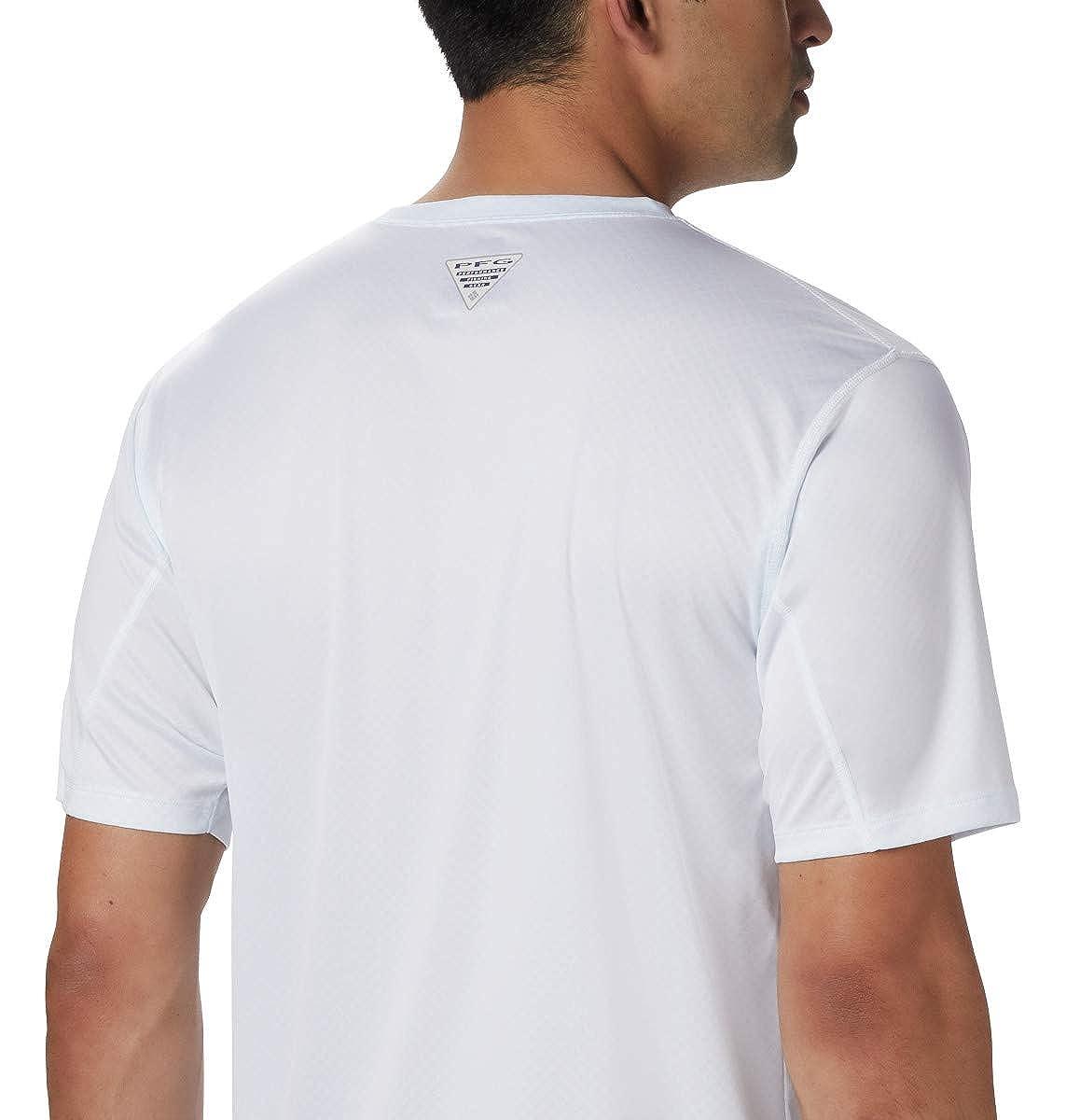 Columbia Mens PFG Zero Rules Ss Shirt