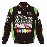 Kyle Busch 2015 Nascar Sprint Cup Champion Jacket by JH Design (2XL)