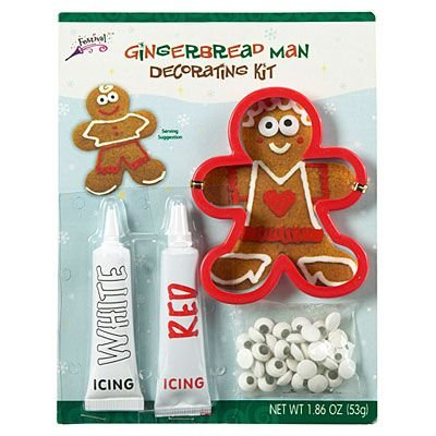 Festival Gingerbread Man Cookie Decorating Kit