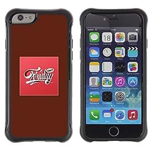 LASTONE PHONE CASE / Suave Silicona Caso Carcasa de Caucho Funda para Apple Iphone 6 / Friday Weekend Sweet Party Pink Text