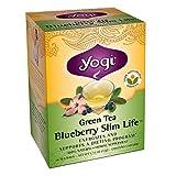Yogi, Green Tea Blueberry Slim Life 16 Tea Bags