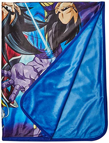 Super Saiyan Group 6 Throw Blanket, One Size, Multicolor ()