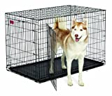 MidWest Homes for Pets Life Stages ACE Double Door Dog Crate, 48-Inch
