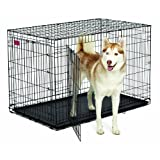 Midwest Home For Pets Life Stages Ace Double Door Dog Crate, 48-Inch