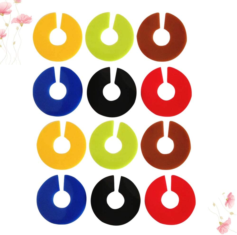UPKOCH 12pcs Silicone Wine Glass Marker Charms C Shaped Glass Identification Marker Glass Charms for Home Banquet Party 6 Colors Mixed