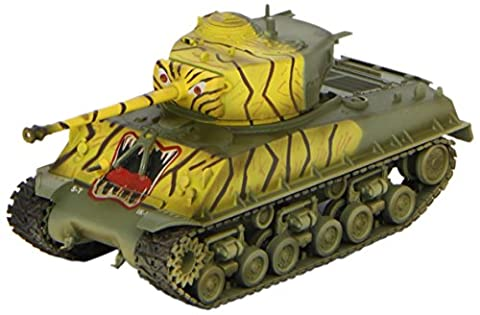 Easy Model M4A3E8 5th Inf Tank, 24th Inf. Division Die Cast Military Land Vehicles (M4a3e8 Tank Model)