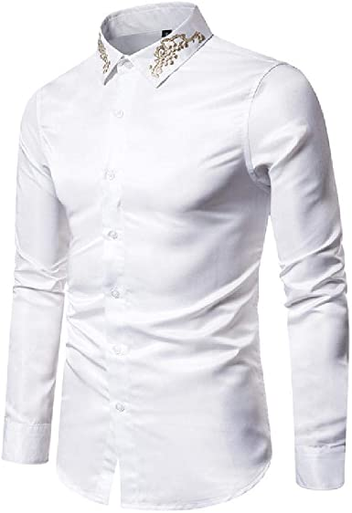 Ou Code New Palace - Camisa de Manga Larga para Hombre ...