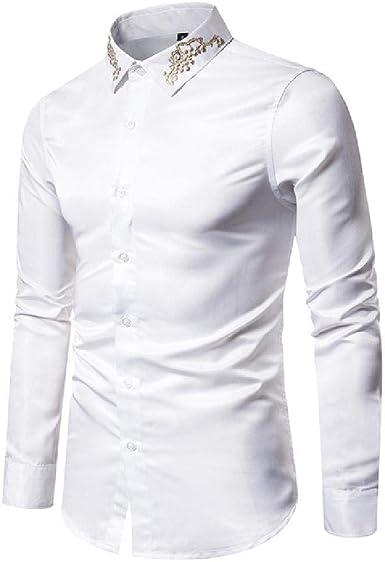Ou Code New Palace - Camisa de Manga Larga para Hombre (Tallas S-XXL): Amazon.es: Ropa y accesorios