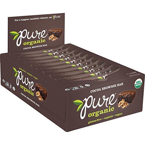 THE PURE BAR COMPANY, Pure Bar Company Pure Organic Chc Brwnie 12